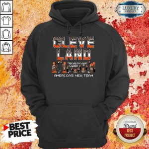 Angry Cleveland Browns Americas New Team 5 Hoodie