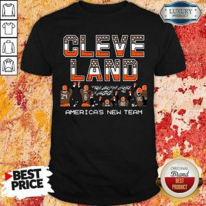 Angry Cleveland Browns Americas New Team 5 Shirt