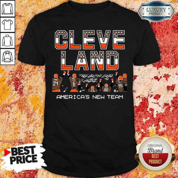 AngryCleveland Browns Americas New Team 5 Shirt