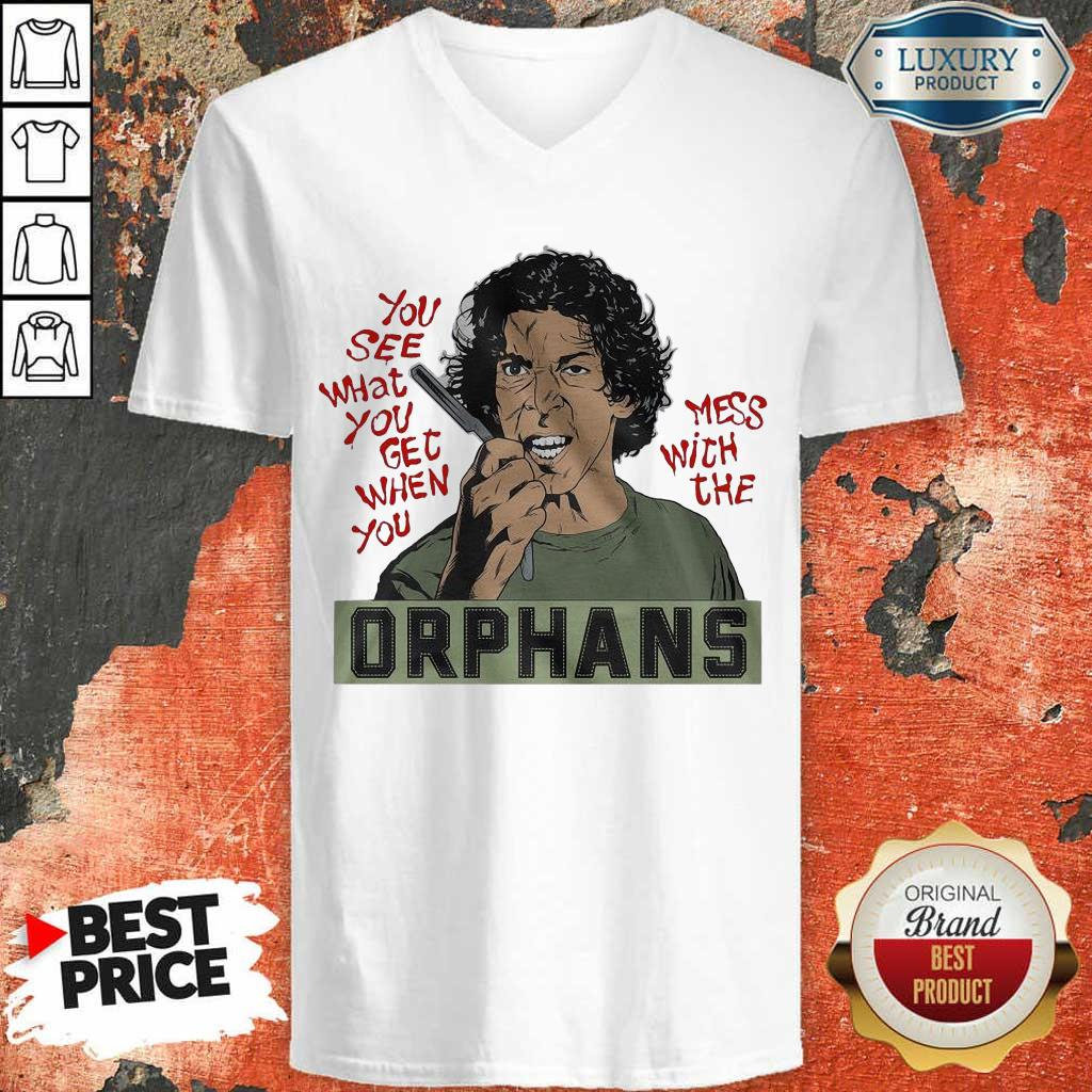 Appalled The Orphans You See What You Get 9 V-neck