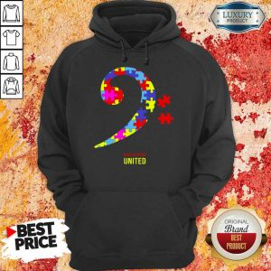 Bass Players United Rocks For Autism Hoodie