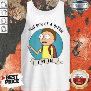 Ecstatic You Son Of A Bitch Im 9 Tank Top