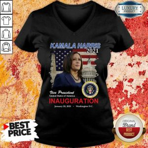 2021 Inauguration Day Kamala Harris Commemorative Souvenir V-neck