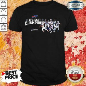 Buffalo Bills 2020 AFC East Champions One Family Shirt