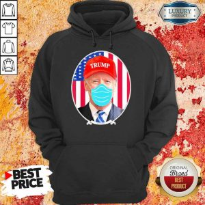Jealous Joe Biden Wearing Hat Trump And Mask 1 Hoodie