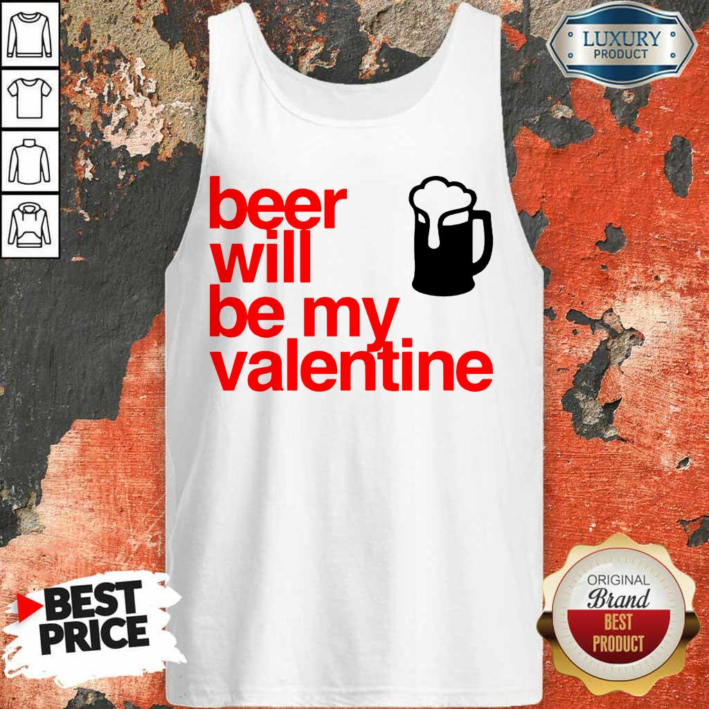 KeenBeer Will Be My Valentine 2021 Tank Top