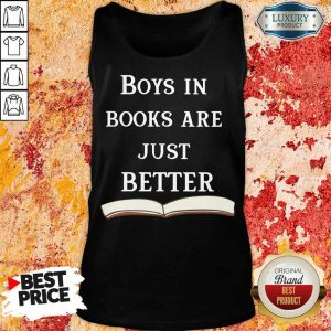 14 Almost Boys In Books Are Better Tank Top