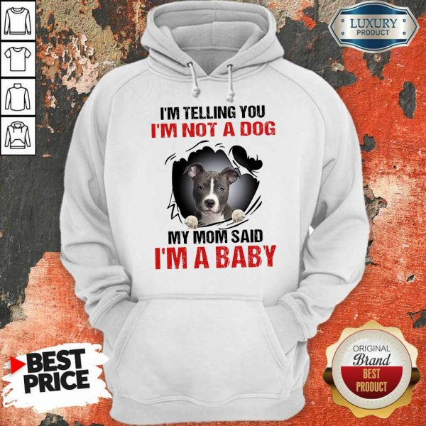 85 Completely I Am A Baby Hoodie