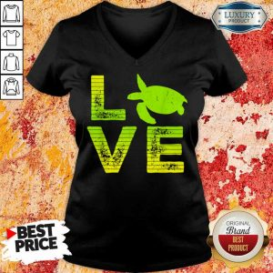 Almost Perfect Turtles For Boys Girls V-Neck