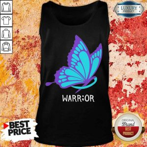 Butterfly Warrior Suicide Awareness Tank Top