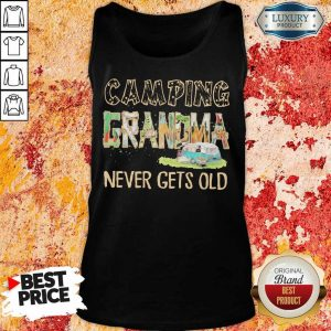 Camping Grandma Never Gets Old Tank Top