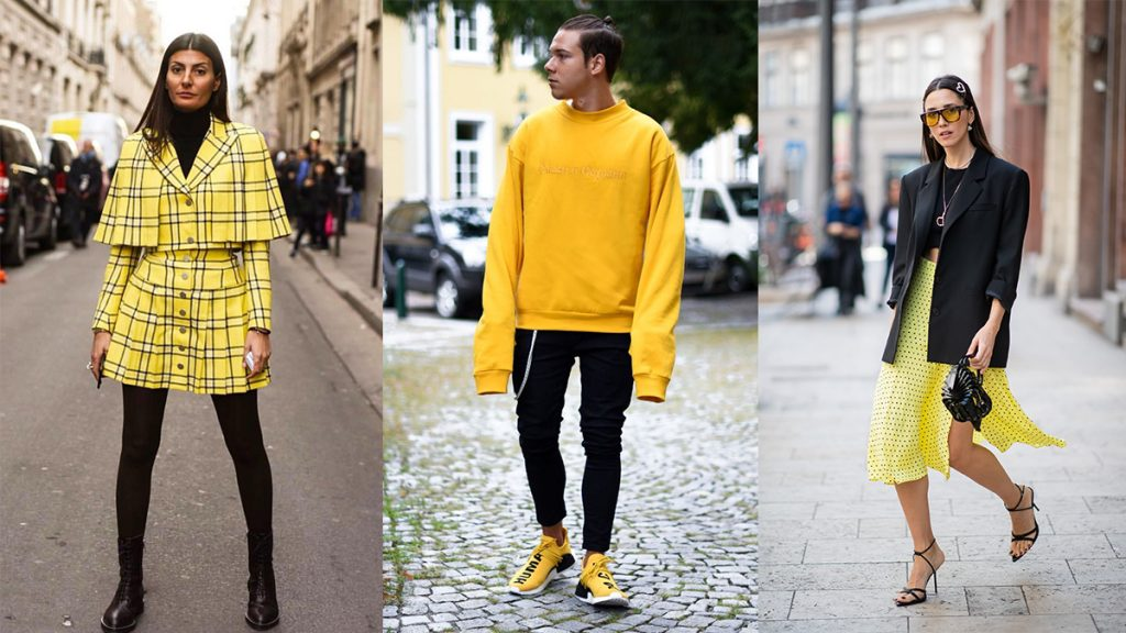 Way To Combine Fashion With Yellow Color