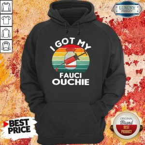 Confident I Got My Ouchie Hoodie