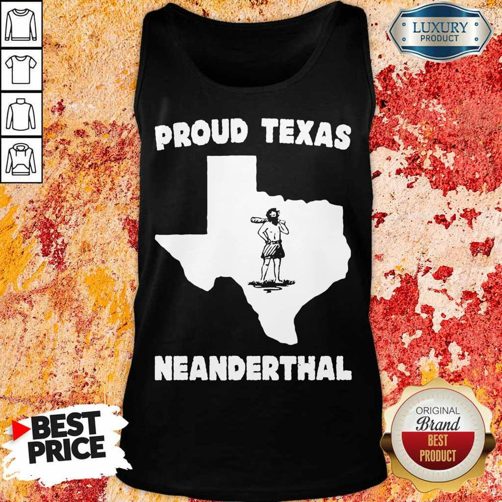 Delighted Texas Neanderthal Tank Top