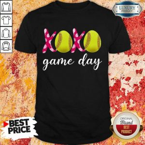 Funny Baseball XoXo Game Day 478 Shirt