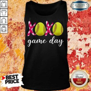 Funny Baseball XoXo Game Day 478 Tank Top