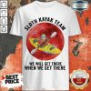 Good Sloth Kayak Team We Will Get There When We Get There Moon Blood Shirt