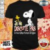 Happy Snoopy And Woodstock Je Ne Discute Pas Shirt