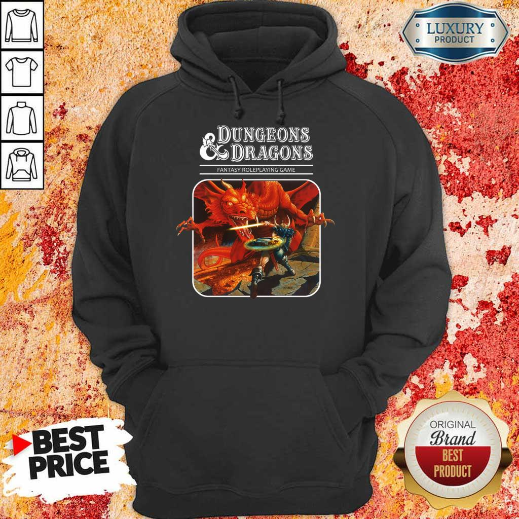 Just 5 Roleplaying Game Dungeons And Dragons Hoodie