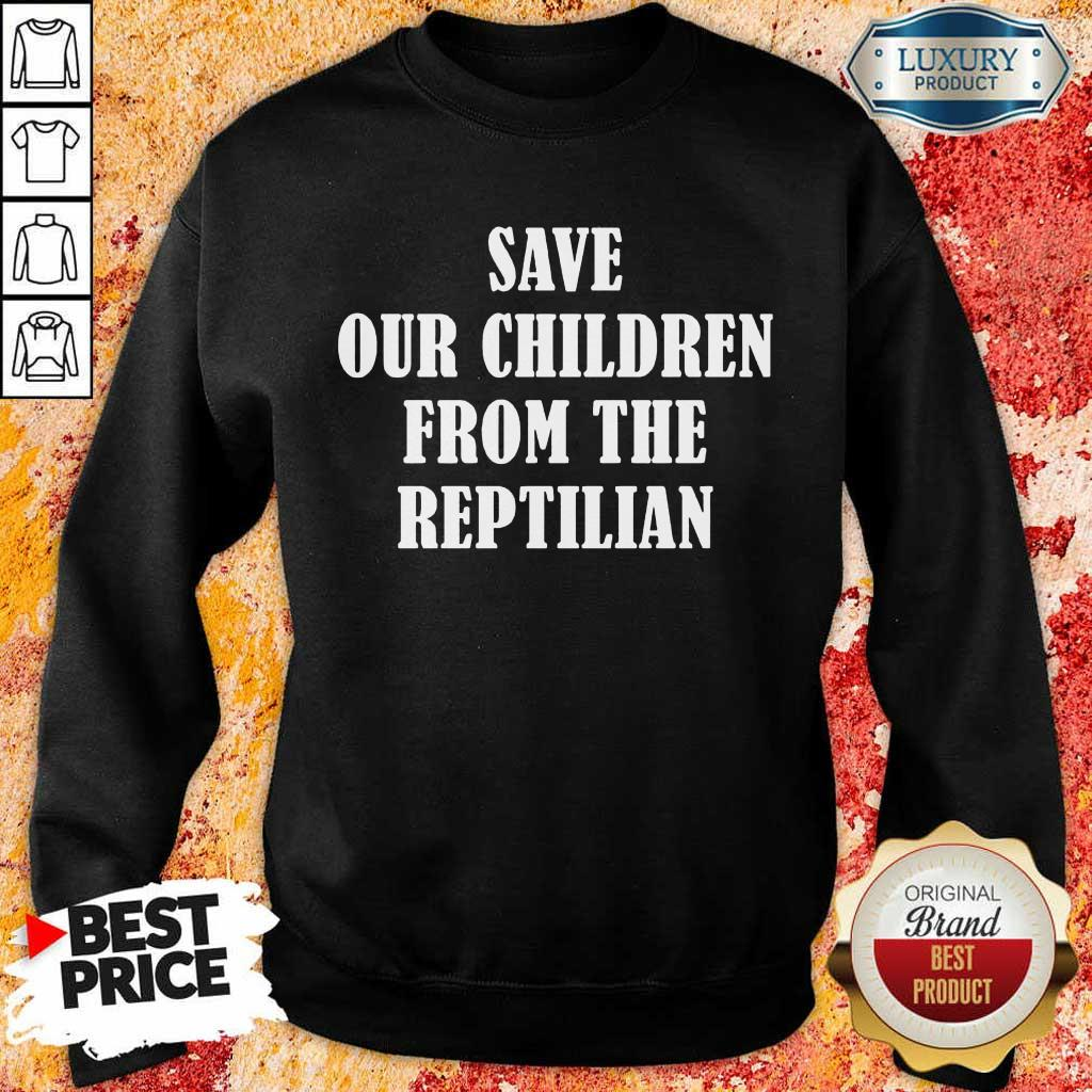 Perfect Save Our Children From Sweatshirt