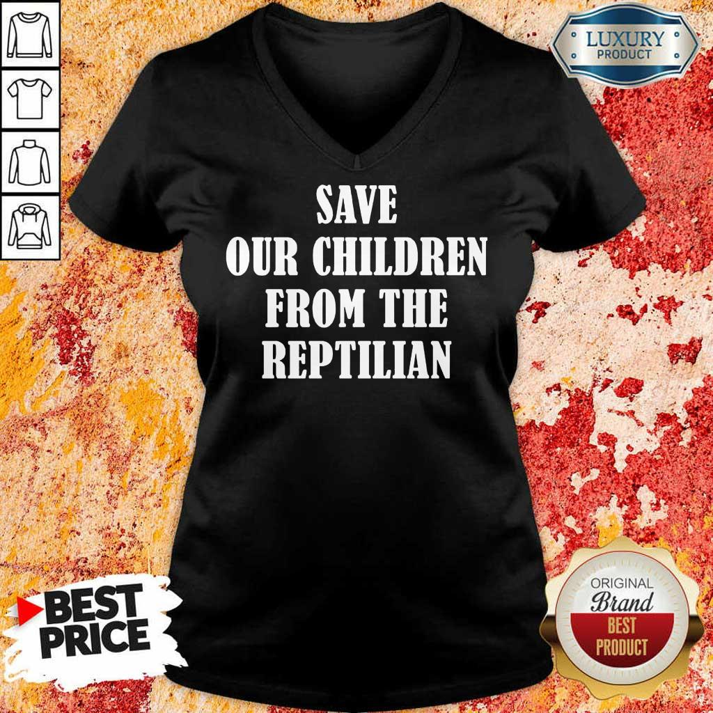 Perfect Save Our Children From V-Neck