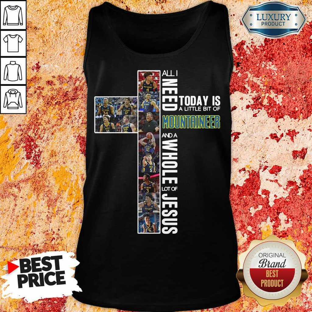 Positive Today Is A Mountaineer 7 Tank Top