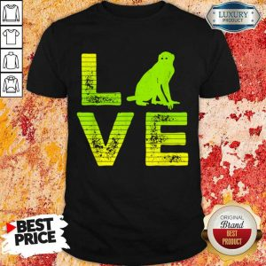 Premium I Love Monkeys Wild Monkey Boy Girl Shirt