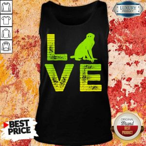 Premium I Love Monkeys Wild Monkey Boy Girl Tank Top