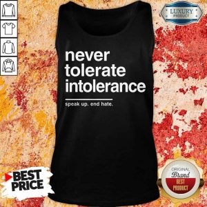 Premium Speak Up End Hate Tank Top