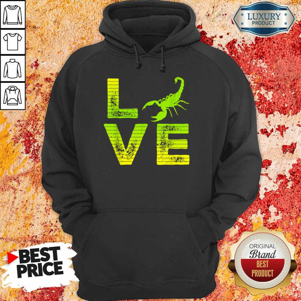 Pretty I Really Love Scorpions Boys And Girls Hoodie