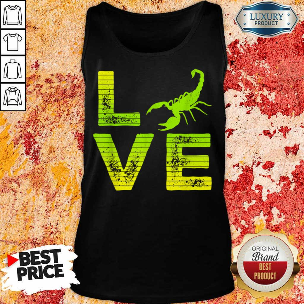 Pretty I Really Love Scorpions Boys And Girls Tank Top