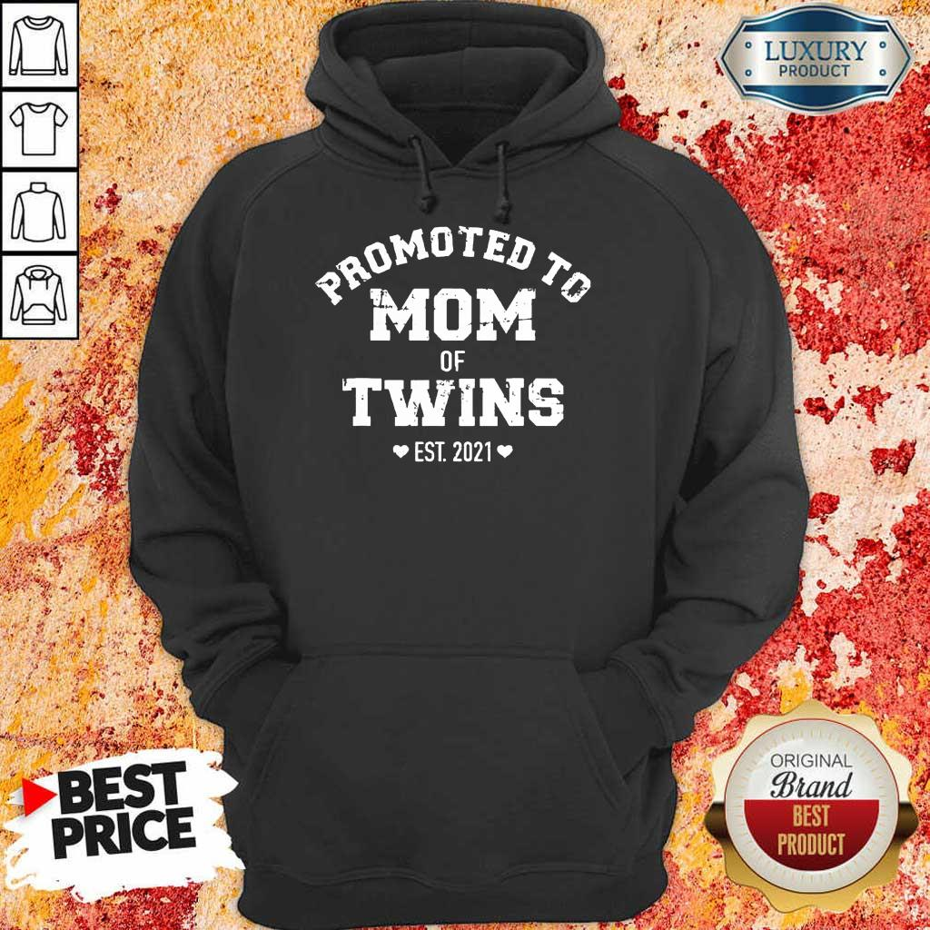 Pretty Promoted Of Twins 2021 Hoodie