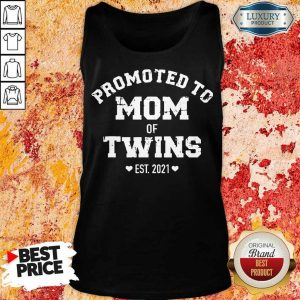 Pretty Promoted Of Twins 2021 Tank Top