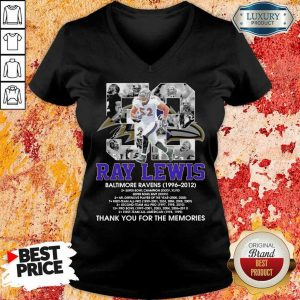 Ray Lewis Baltimore Ravens Signature V-Neck