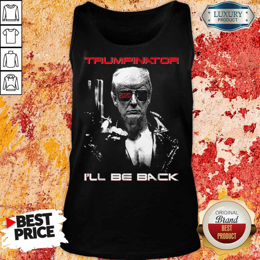 Really I Will Be Back On 1 Day Tank Top
