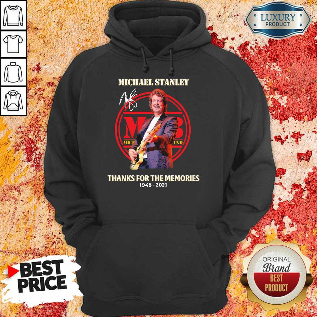 Rip Michael Stanley The Memories 2021 Signature Hoodie