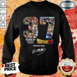 Series Dragon Ball Toriyama Akira Signature Sweatshirt