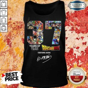 Series Dragon Ball Toriyama Akira Signature Tank Top