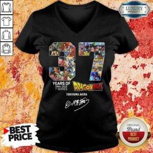 Series Dragon Ball Toriyama Akira Signature V-Neck