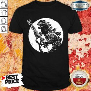 Awesome Godzilla Plays Guitar Shirt