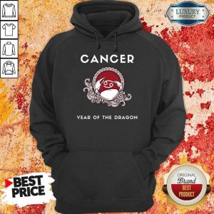 Nice Cancer Year Of The Dragon Hoodie