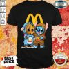 Top Baby Groot And Stitch McDonalds Shirt