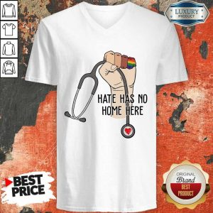 Top Hate Has No Home Here V-Neck