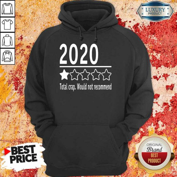 2020 Total Crap Would Not Recommend Hoodie