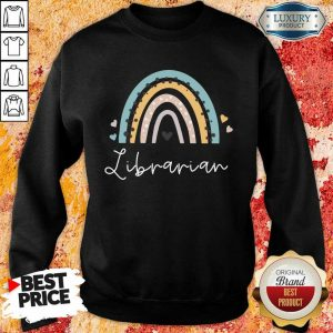 Librarian Rainbow Sweatshirt