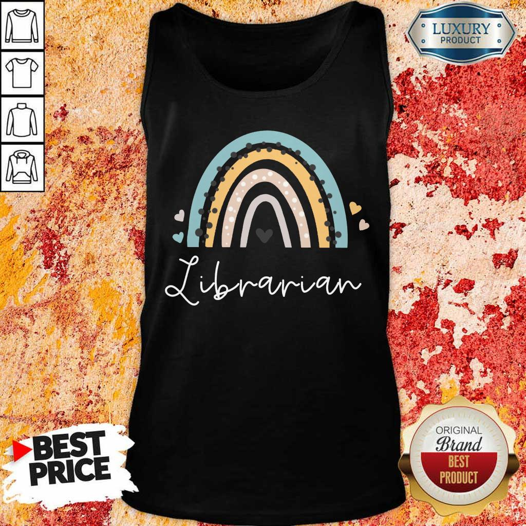 Librarian Rainbow Tank Top
