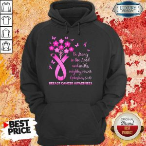 In The Lord Breast Cancer Awareness Hoodie