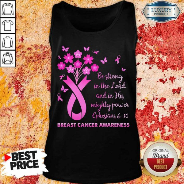 In The Lord Breast Cancer Awareness Tank Top