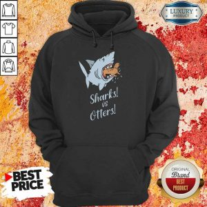 Shark And Otters Hoodie