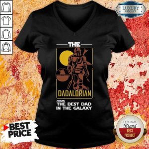The Dadalorian The Best Dad V-Neck